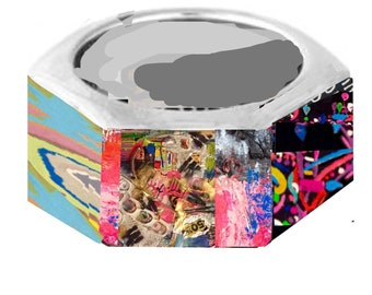 Hex Nut Ring Art Prints your choice