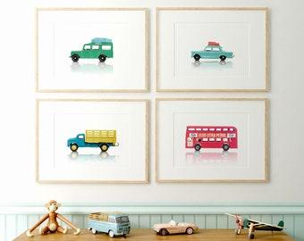 Car Prints, Boys Room Decor, PRINTABLE Art, Boys Room Wall Art, Vintage Car  Decor, Nursery Prints, Boys Room Decor, Kids Room Art, Toy Cars