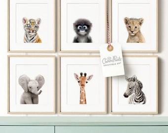 safari nursery decor etsy
