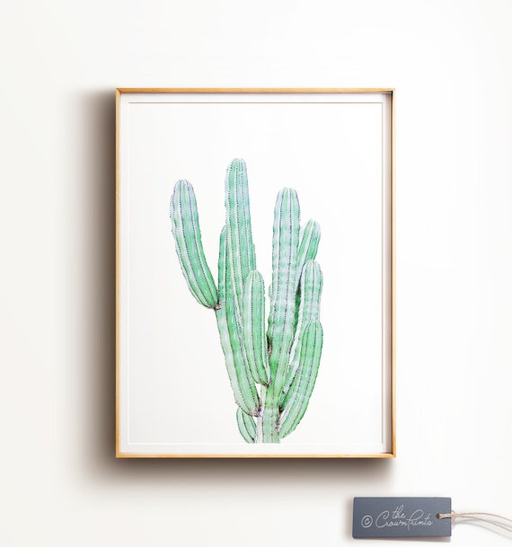 photograph about Cactus Printable referred to as Cactus PRINTABLE artwork,cactus print,southwestern decor,minimalist artwork,ground breaking artwork,cacti print,cactus decor,character print,impartial print,Prompt