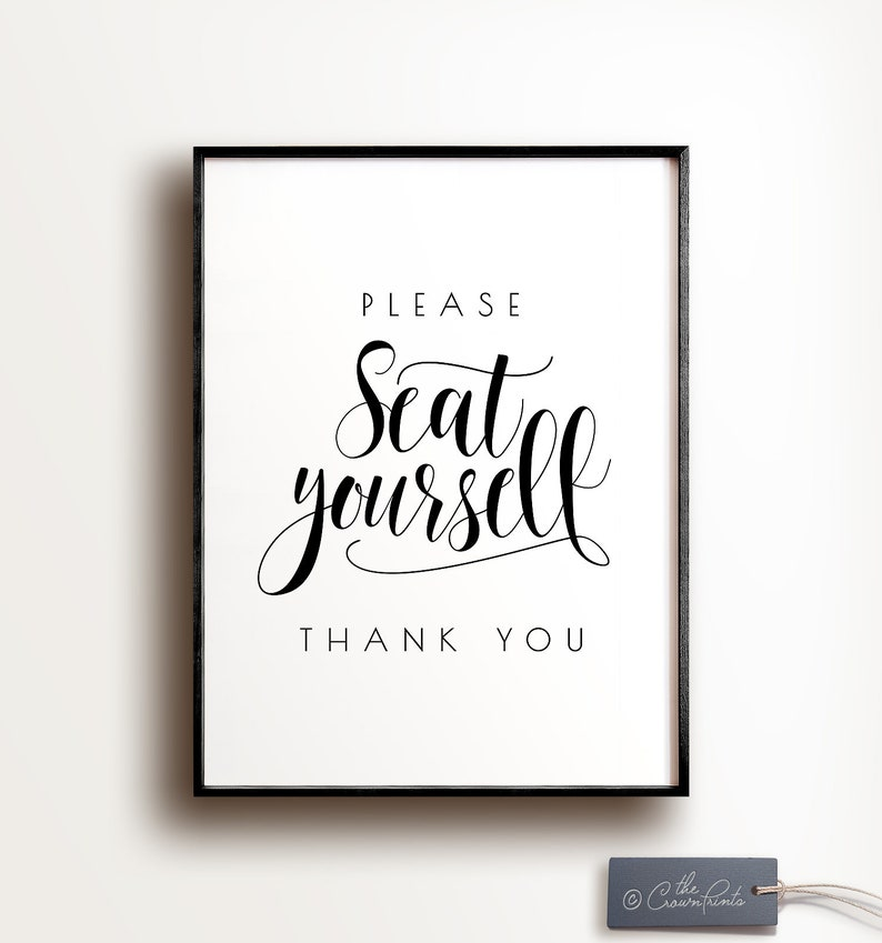 photo relating to Printable Wall Decor identify You should seat on your own, Rest room wall decor, PRINTABLE wall artwork, Humorous rest room artwork, Cafe decor, Rest room indication, Rest room print, Washroom