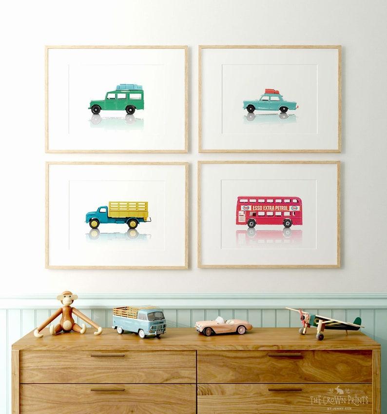 Car prints Boys room decor PRINTABLE art Boys room wall image 0
