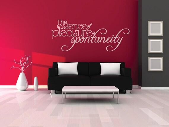 Slaapkamer Muur Quotes : De essentie plezier spontaniteit muur quote lounge quotes etsy
