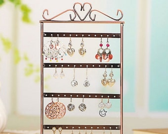 48 Holes Earrings Display Stand....Free Shipping in US!