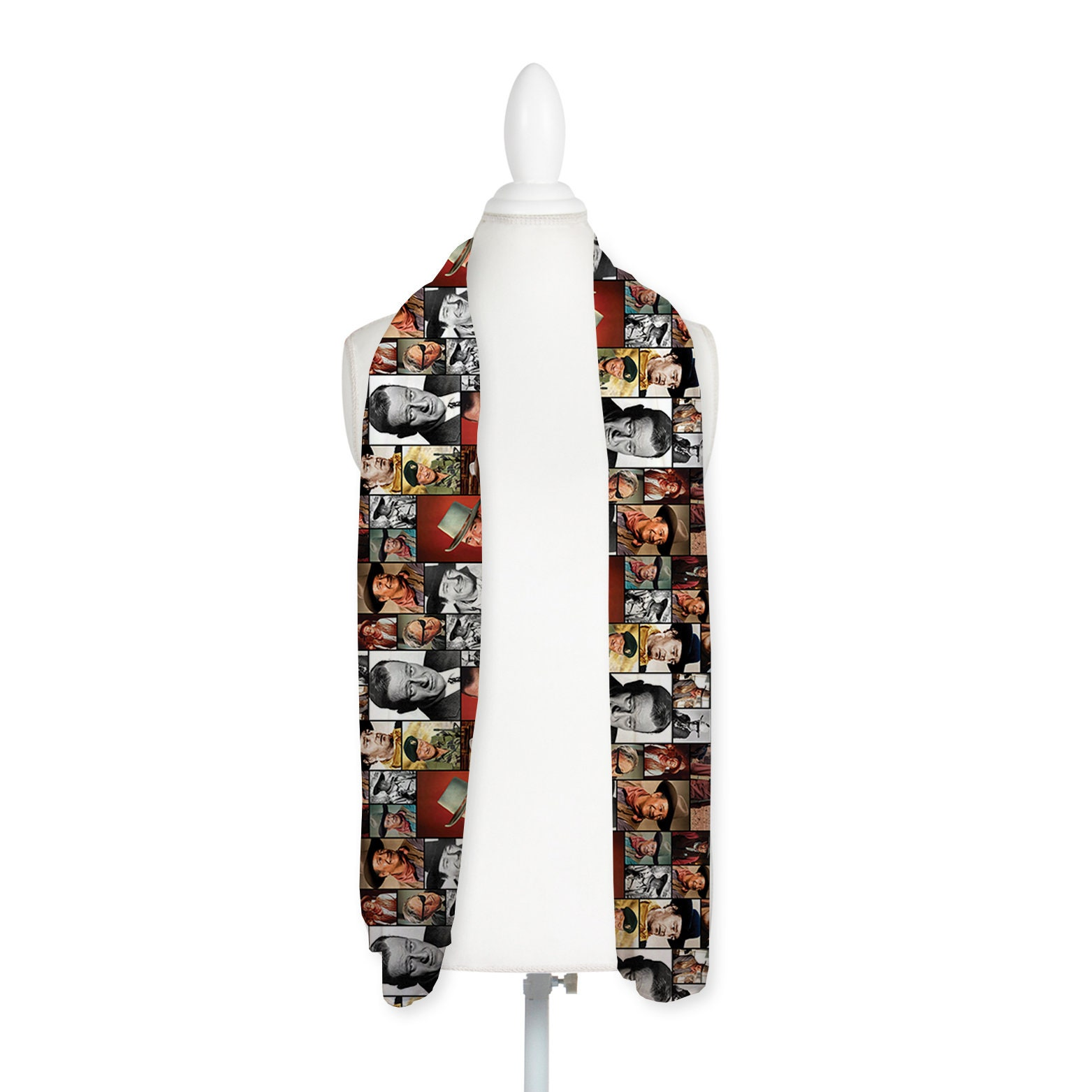 Infinity Scarf Jersey//Chiffon Whitney Houston Coloured Fashion Loop Scarves