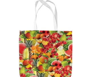 Fruit Salad Design Tote Bag Shopping Bag Beach Bag School Bag