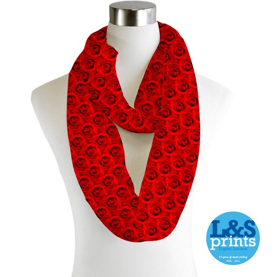 Infinity Scarf Jersey Or Chiffon Sunflower Design Unisex Fashion Loop Scarves