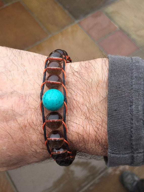 Blue Groundhog Bracelet