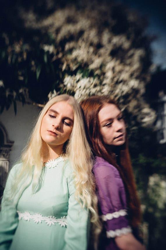 Bohemian Maxi 1970s Boho Clothing Maxi Dress Floral Boho Bohemian Dress Bohemian Dress Clothing Boho Green Mint Dress 1960s vBrvgq