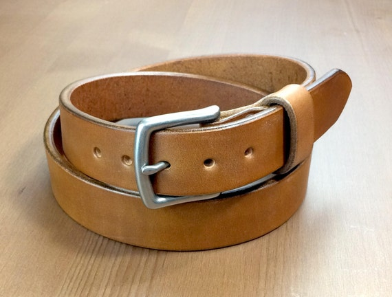 Big /& Tall Mens Heavy Duty Dark Chocolate Brown Leather Belt 1 1//4 Wide Sizes 46-72