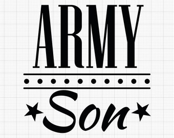 ARMY *Family Member* Indoor/Outdoor Vinyl Decal - 86 Colors Available