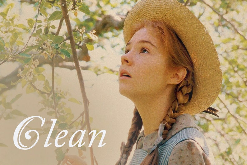 Anne of Green Gables Dirty Clean Dishwasher Magnet Anne image 0