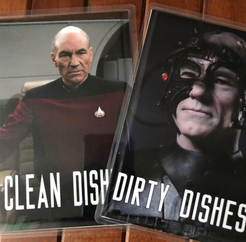 Star Trek Next Generation Laminated Reversible Magnetic image 0