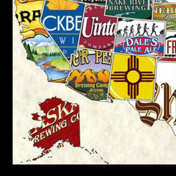 United States, USA, US Craft Beer nds Wall Map Poster Decor Wall Hanging on usa dairy map, usa beach map, usa poultry map, usa games map, usa basketball map, usa wineries map, soda usa map, usa love map, usa water map, usa map art, funny us state map, usa map states and capital puzzle, usa fishing map, usa fish map, usa europe map, usa fun map, american funny world map, usa whisky map, usa history map, usa food map,