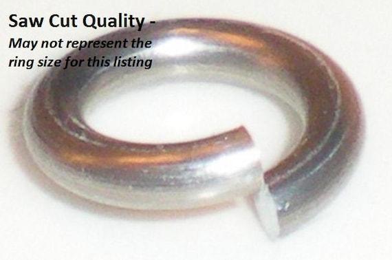 GREEN Anodized Aluminum JUMP RINGS 500 5//32 18g SAW CUT Chainmail chain mail