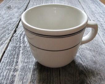 vintage Homer Laughlin diner ware cup