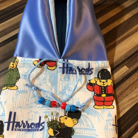 Pet bird parrot 'HARRODS TEDDIES' hoodie - all sizes available - petite to large