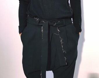 17502303f85 Black Stylish Pants   Paradox   Wide Leg Trousers   Plus Size Pants    Workout Pants   Festival Pants   Bohemian Pants   Lounge Wear   PP0206