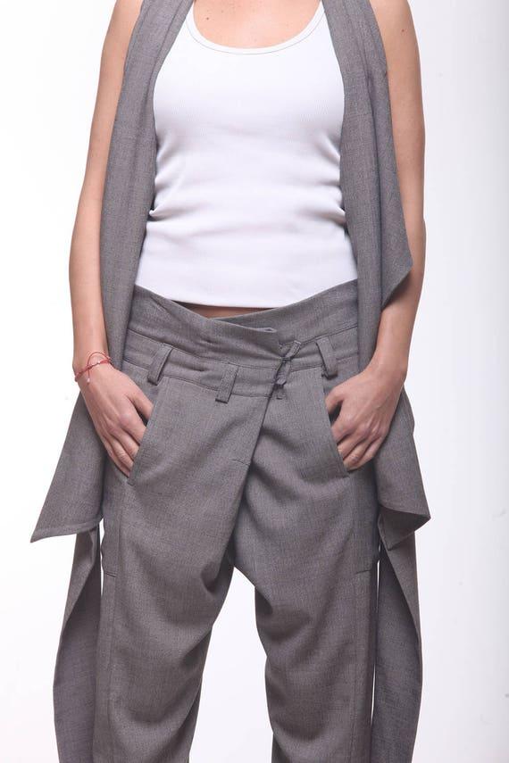 ccc011a2e64b3 Women Set   Paradox   Harem Pants   Loose Pants   Open Back