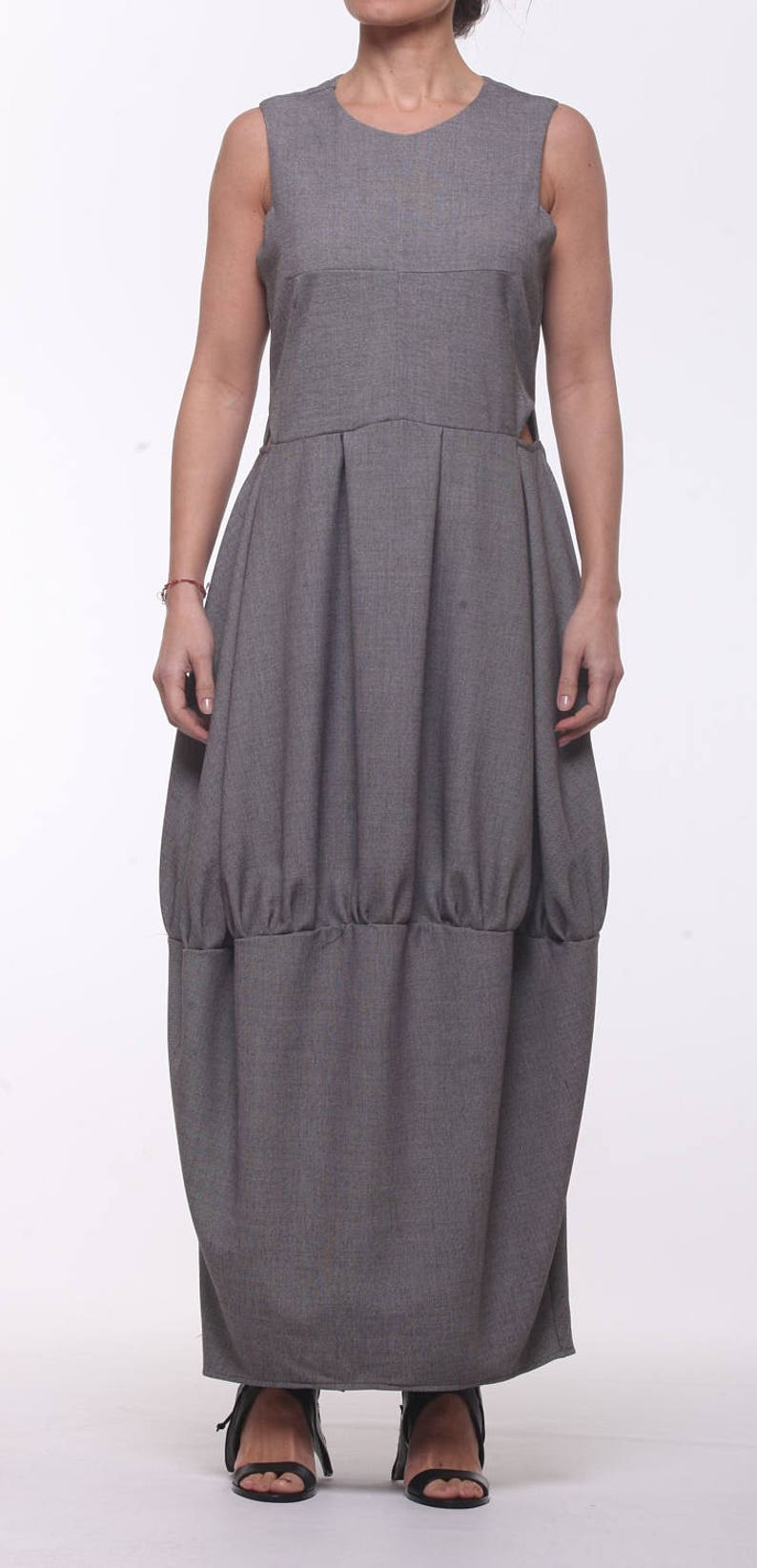 5409dfa9898c3 Gray Stylish Dress   Paradox   Wiggle Dress   Sleeveless Dress