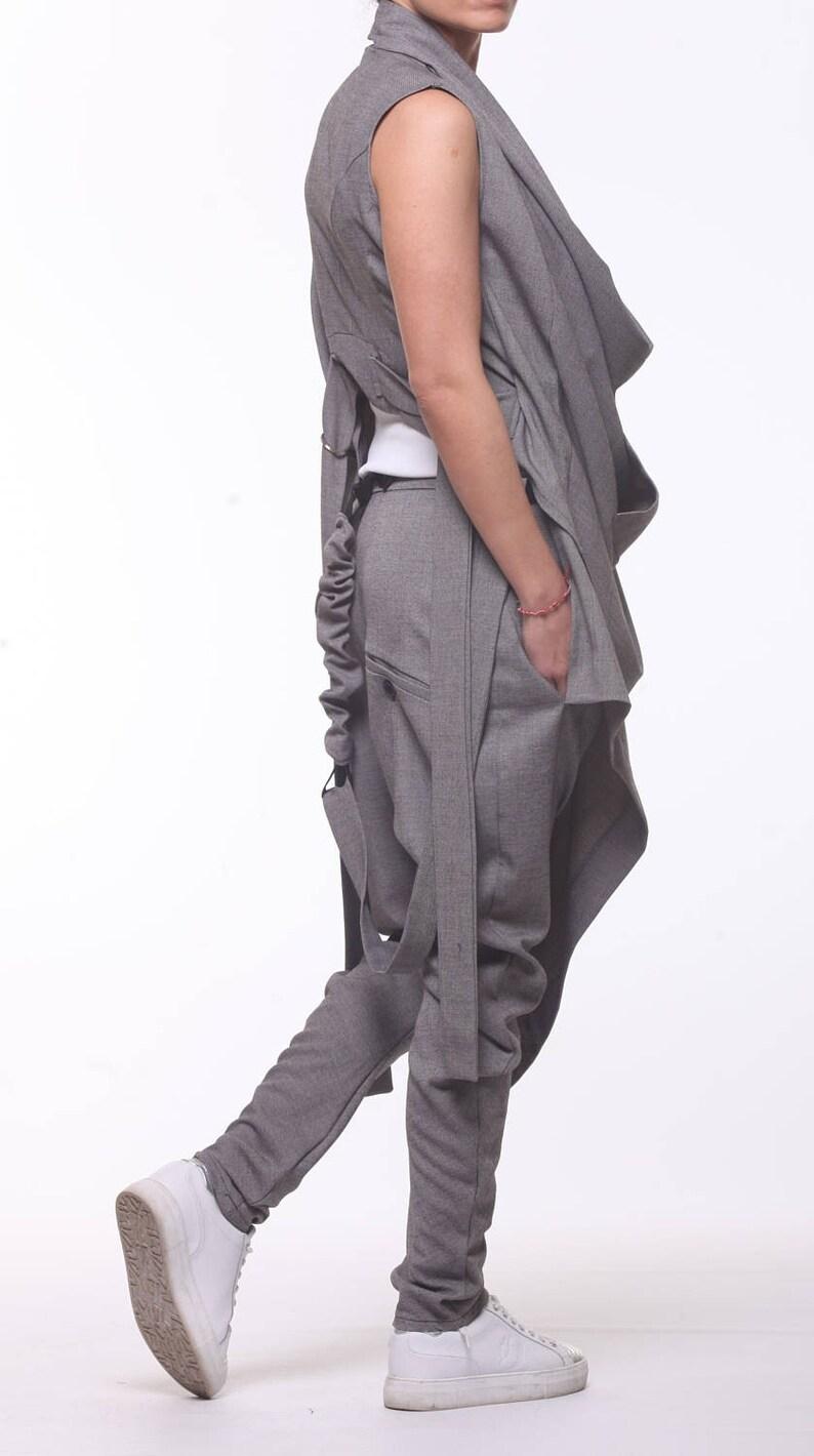 b3cee73442b76 Off Shoulder Vest   Harem Pants   Women Set   Loose Pants