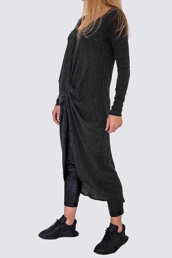 Tunic Tunic New Paradox Designer Long Sheer Blouse Tunic Loose Casual PB0353 Long Tunic Sleeve Cotton Party Tunic Zww10xqSg