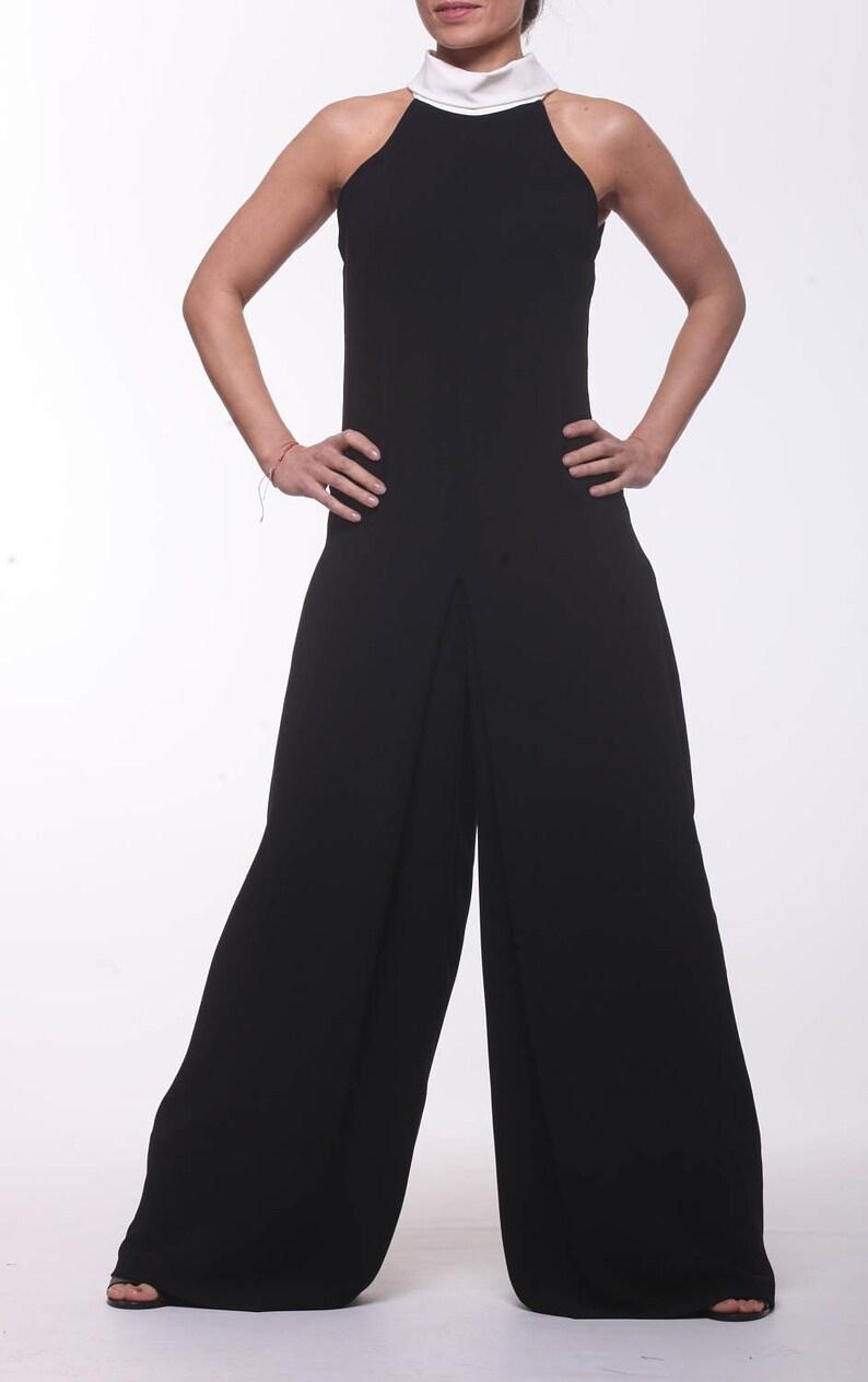Extravagant Jumpsuit  Paradox  Elegant Jumpsuit  Women Overall  Classy Romper  Wide Overall  Summer Jumpsuit  PP0164
