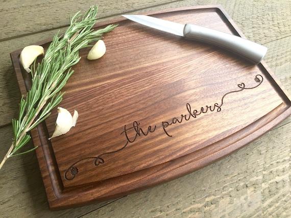 Personalized Cutting Board Wedding Gift Wedding Shower Gift Etsy