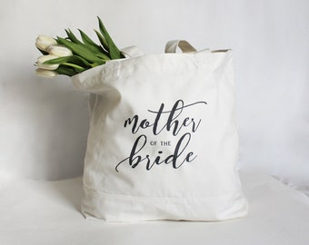 Mother of the Bride Tote, Mother of the Groom Tote, Mother of the Bride Bag, Personalized Wedding Party Bag