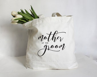 Mother of the Groom Tote, Mother of the Bride Tote, Mother of the Bride Bag, Personalized Wedding Party Bag