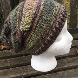 Autumn Slouch  Hat Collection Unisex Pistachio Green Crochet Slouch Hat Gift  Under 30 dollars