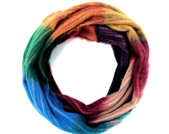 KUNKALLINA | Cozy Infinity Scarf, Handcrafted & Vegan Friendly || 001