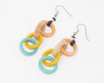 Siwi - Tagua Earring