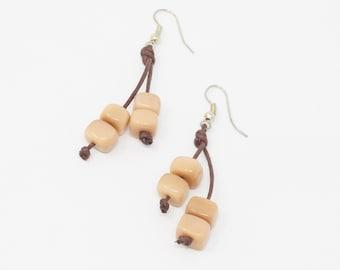 Yula - Tagua Earring