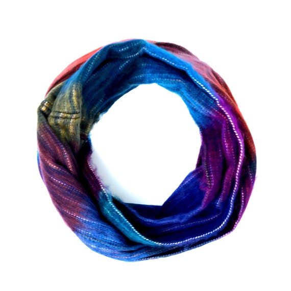 KUNKALLINA | Cozy Infinity Scarf, Handcrafted & Vegan Friendly || 006