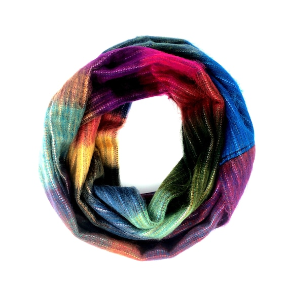 KUNKALLINA | Cozy Infinity Scarf, Handcrafted & Vegan Friendly || 005