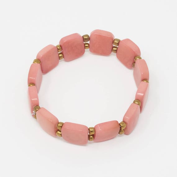 TAWAKUCHU | Tagua Tile Bracelet, Handcrafted & Vegan Friendly