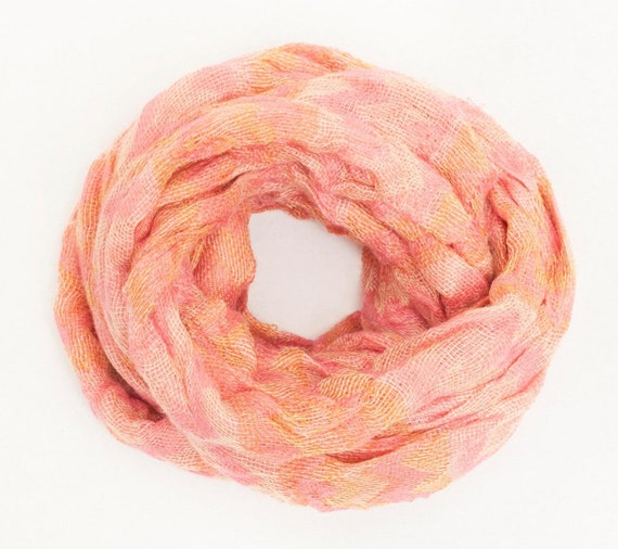 SISANA | Boho Infinity Scarf, Handcrafted & Vegan Friendly