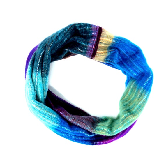 KUNKALLINA | Cozy Infinity Scarf, Handcrafted & Vegan Friendly || 011