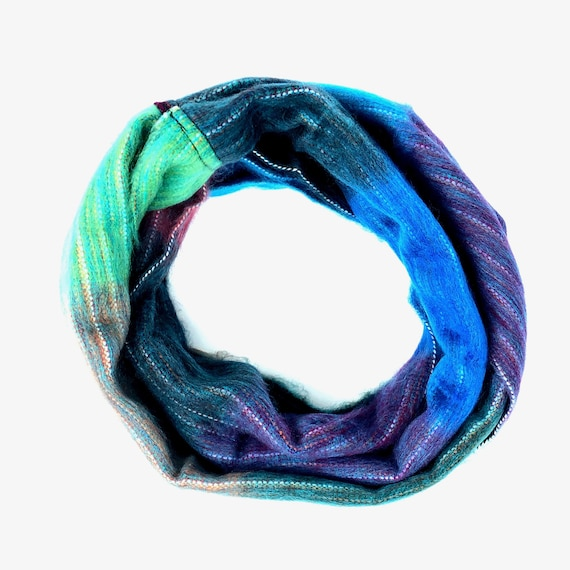 KUNKALLINA | Cozy Infinity Scarf, Handcrafted & Vegan Friendly || 010