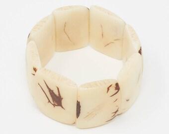 Jatun - Tagua Plaque Bracelet