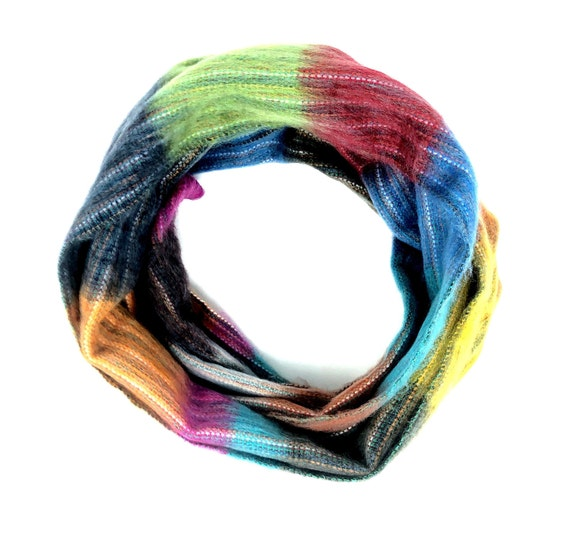KUNKALLINA | Cozy Infinity Scarf, Handcrafted & Vegan Friendly || 004