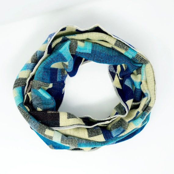 UNACHA | Tribal Infinity Scarf, Handcrafted & Vegan Friendly || 303