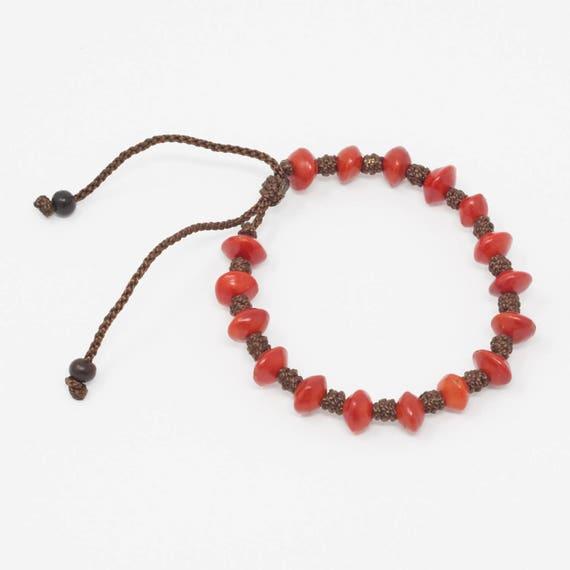 MAKIWATANA | Simple Seed Bracelet, Handcrafted & Vegan Friendly