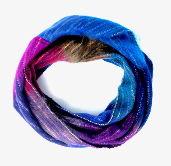 KUNKALLINA | Cozy Infinity Scarf, Handcrafted & Vegan Friendly || 002