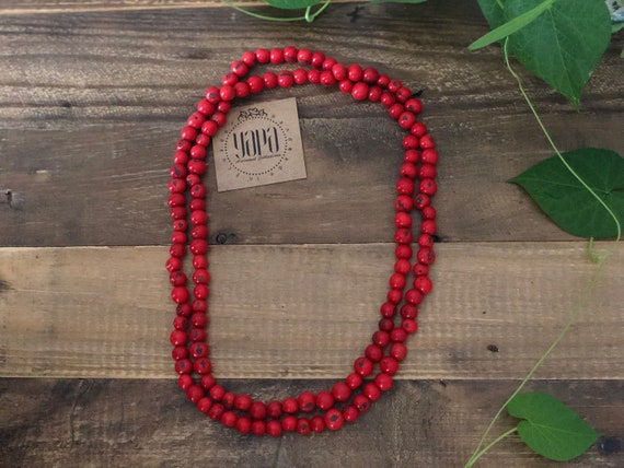 WACHKA | Acai Wrap Necklace, Handcrafted & Vegan Friendly
