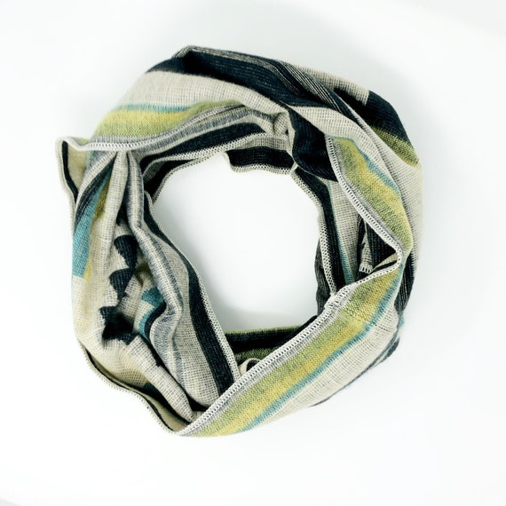 UNACHA | Tribal Infinity Scarf, Handcrafted & Vegan Friendly || 301