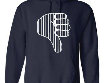 Thumbs Down Yankees Hoodie