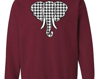 Bama Elephant Head Crew Sweatshirt