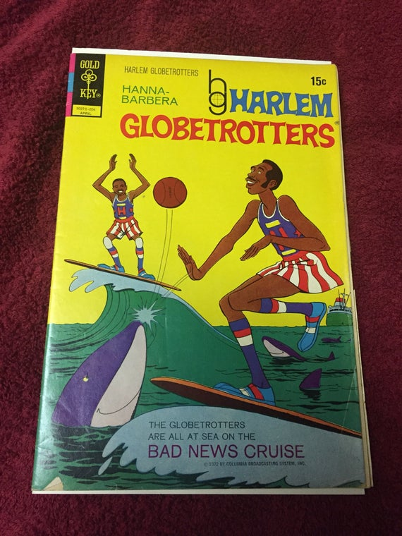fd033deccd3e The 1 Harlem Globetrotters Comic First Issue April 1972